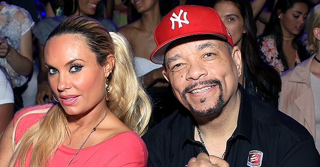 See Ice-T's Wife Coco Austin Share a Kiss with Adorable Daughter Chanel in a Pink Face Mask