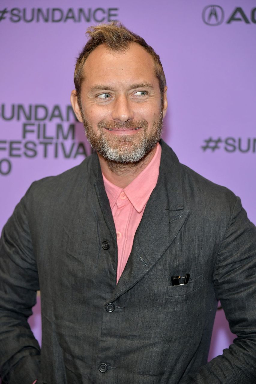 "Jude Law during the 2020 Sundance Film Festival - ""The Nest"" Premiere at Eccles Center Theatre on January 26, 2020 in Park City, Utah. 