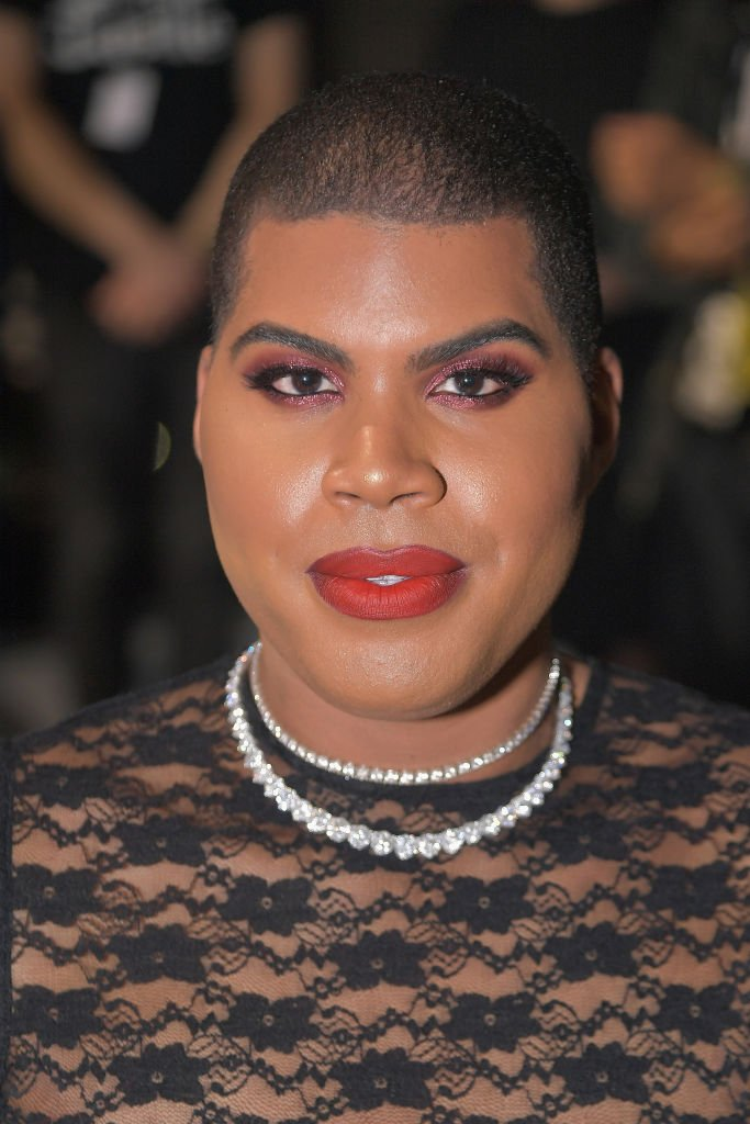 EJ Johnson attends the Laquan Smith front row during New York Fashion Week: The Shows at Gallery II at Spring Studios | Photo: Getty Images