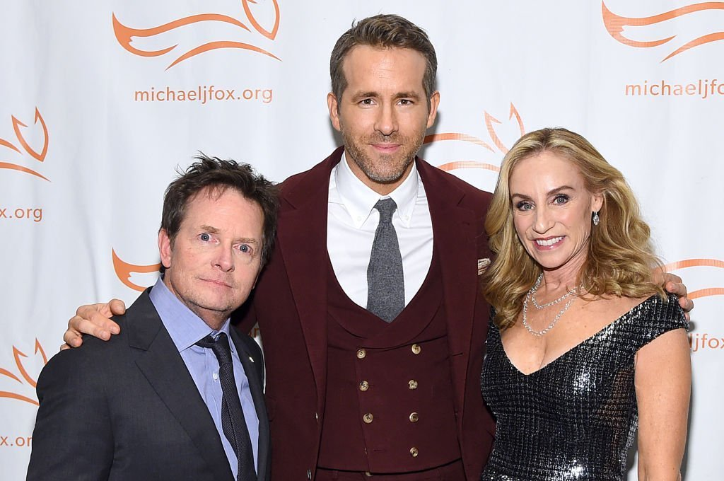 Michael J. Fox, Ryan Reynolds and Tracy Pollan attend A Funny Thing Happened On The Way To Cure Parkinson's benefitting The Michael J. Fox Foundation  | Getty Images