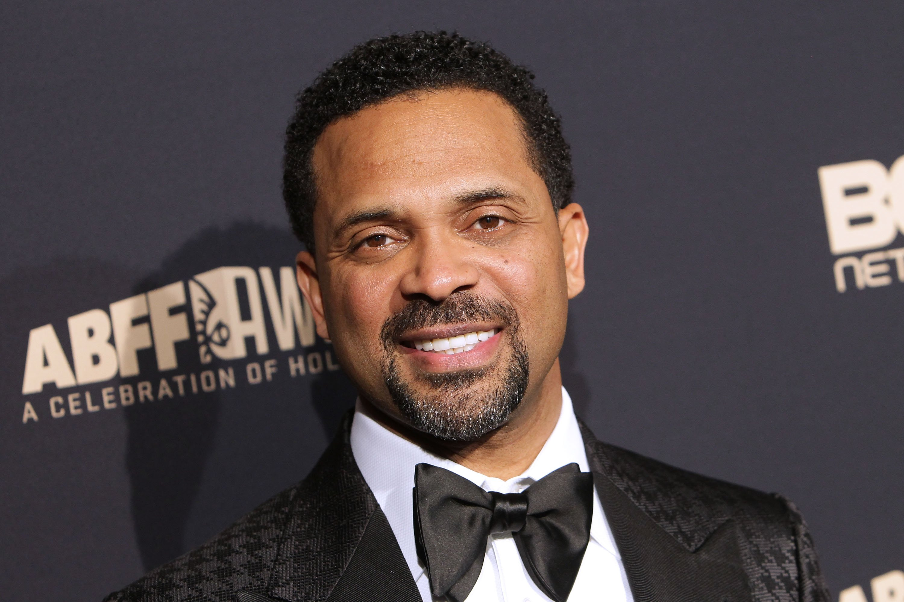 Mike Epps arrived to the 2016 American Black Film Festival Awards Gala - Arrivals at The Beverly Hilton Hotel on February 21, 2016.   Photo: Getty Images