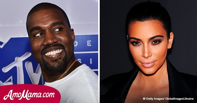 Kim Kardashian wears skin-tight outfit at a date with Kanye and his eyes are all over her