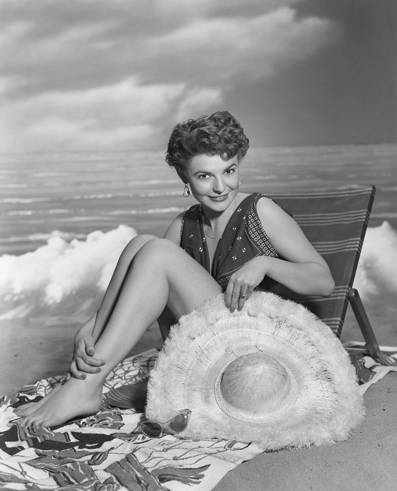 Anne Bancroft on March 11, 1955   Photo: Getty Images