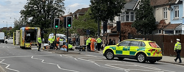 Scene of the accident | Photo: Daily Mail