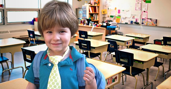 Daily Joke: A Little Boy Was Starting His First Day at a New School