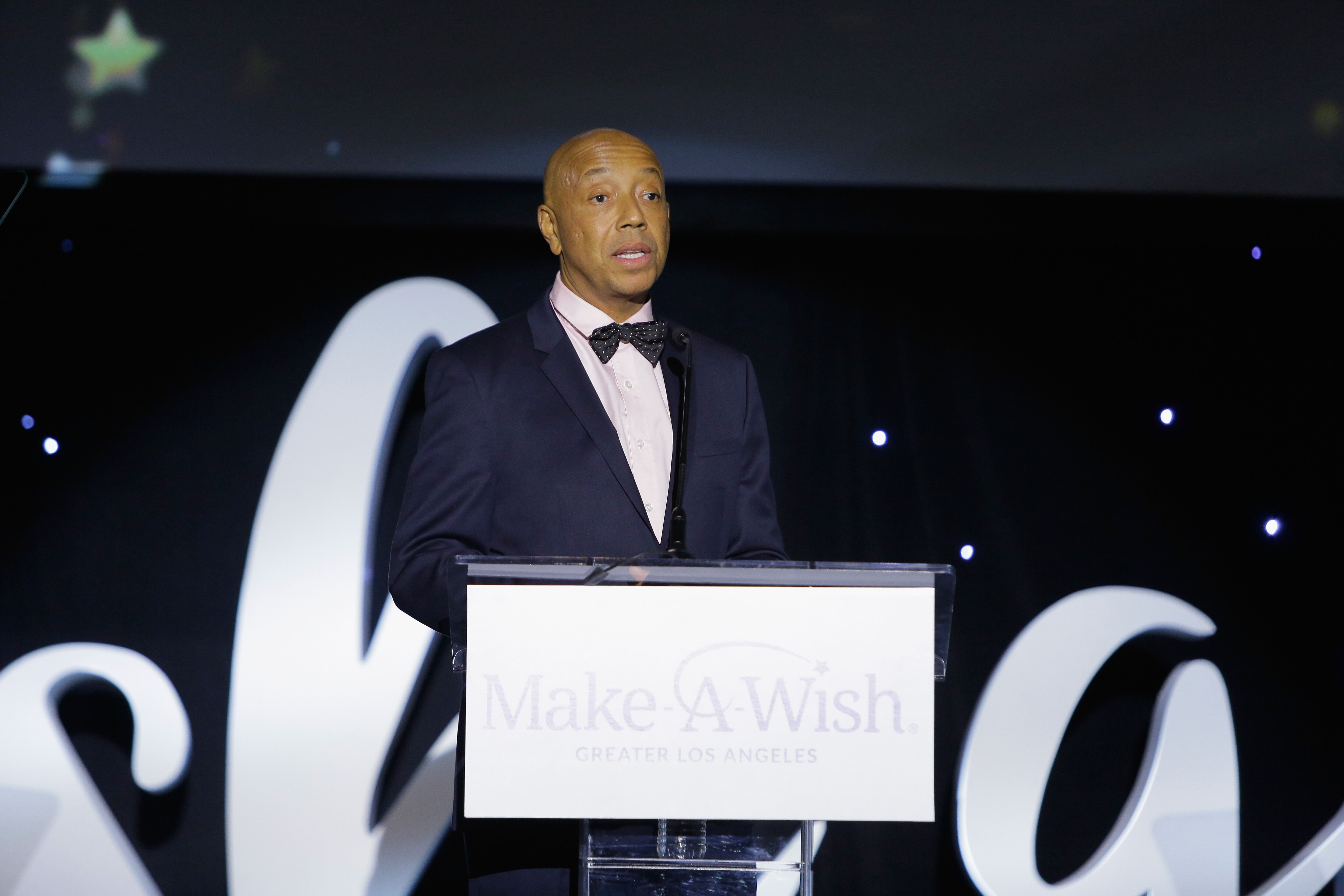 Russell Simmons at a Make A Wish Foundation event | Source: Getty Images/GlobalImagesUkraine