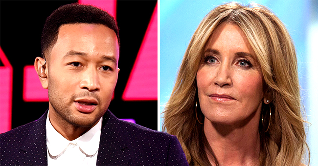 Singer John Legend Weighs in on Felicity Huffman's 14-Day Sentence after College Admissions Scandal