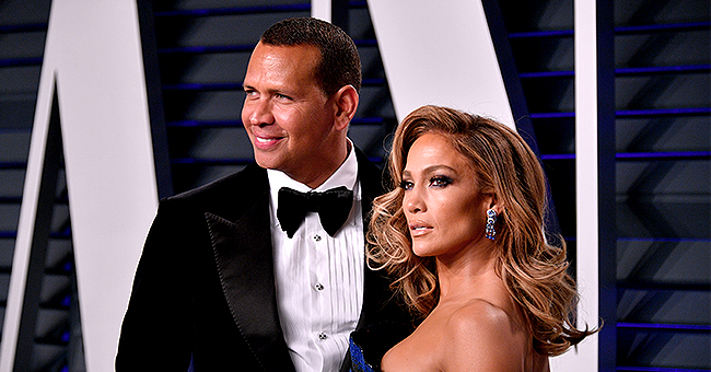 A-Rod Shares Steamy Behind-The-Scenes Photo of Fiancée J-Lo in Sultry Jungle-Print Dress