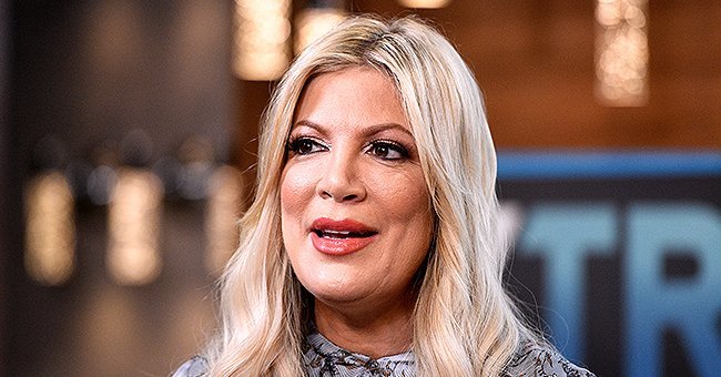 Tori Spelling Claps Back at Fans Slamming Her for Using Kids to Make Money in a Christmas Post