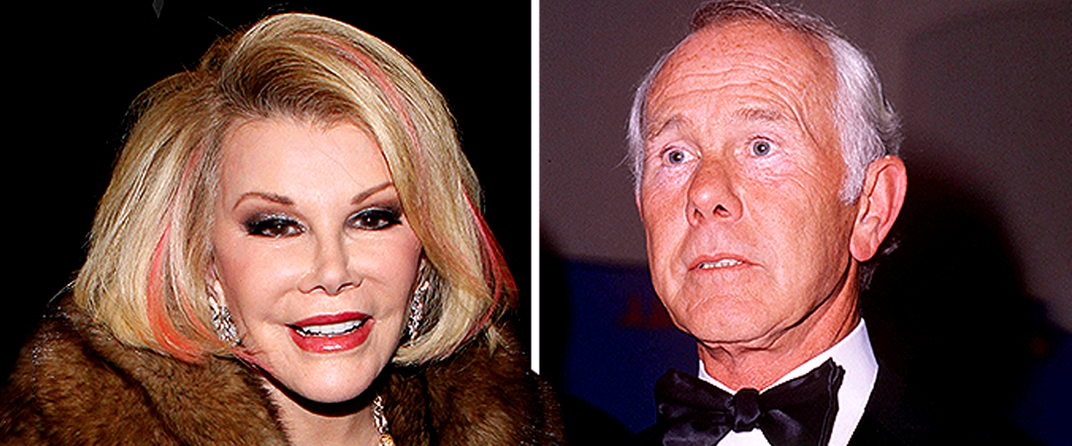 'Why Did You Stop Talking to Me?': Joan Rivers on Emotional Visit to Johnny Carson's Gravestone
