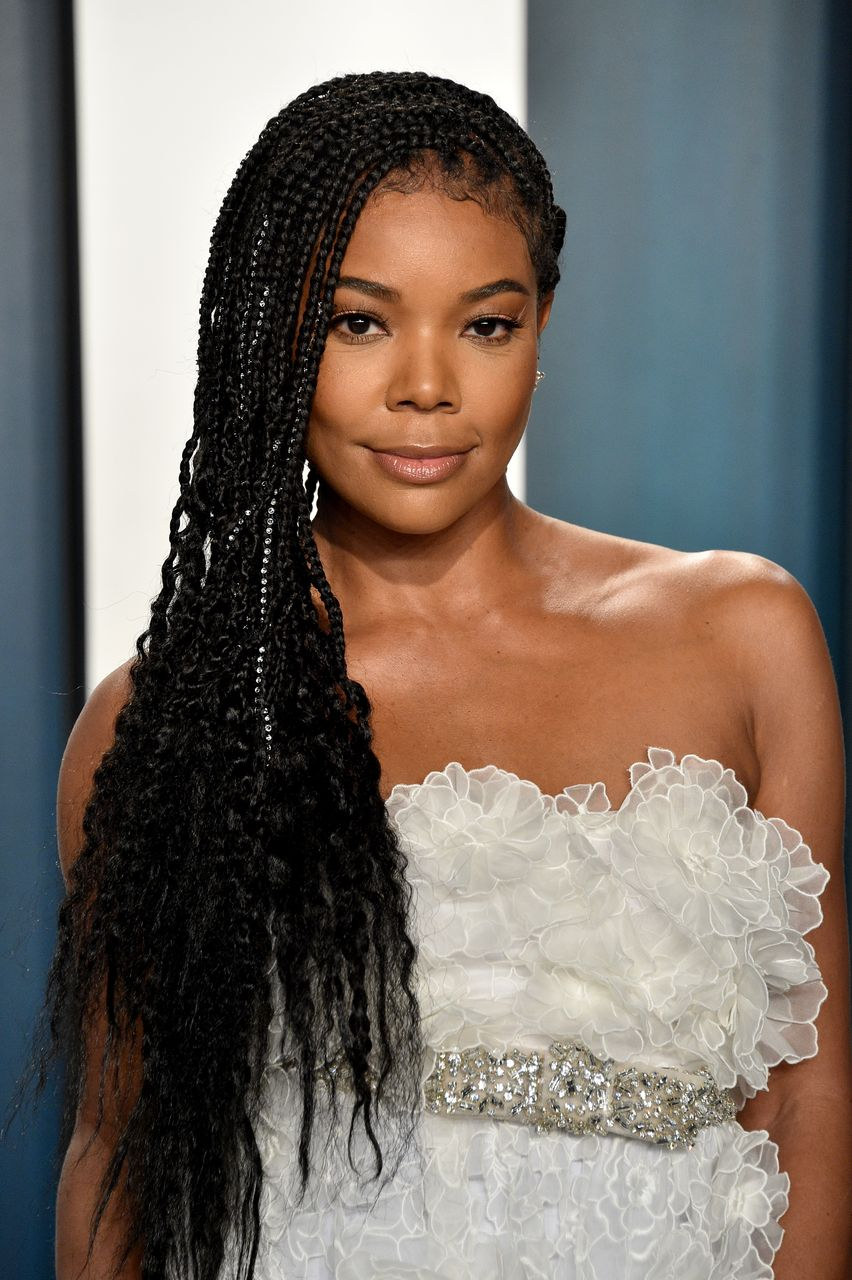 Gabrielle Union attends the 2020 Vanity Fair Oscar Party hosted by Radhika Jones at Wallis Annenberg Center for the Performing Arts on February 09, 2020 in Beverly Hills, California. | Source: Getty Images