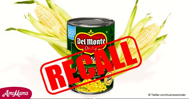 Del Monte recalls their Fiesta Corn as they could lead to life-threatening illnesses