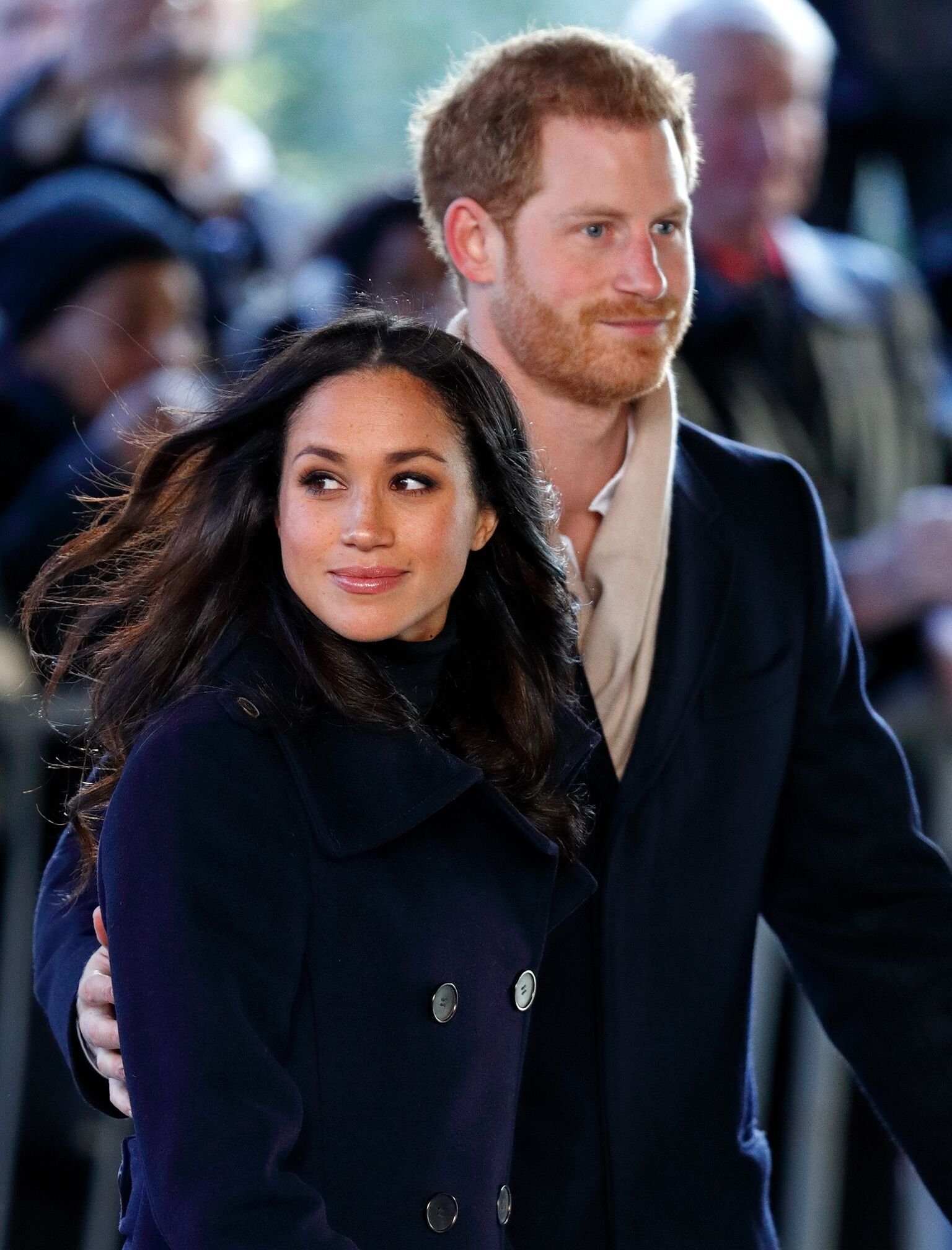 Meghan Markle and Prince Harry attend a Terrence Higgins Trust World AIDS Day charity fair at Nottingham Contemporary  | Getty Images