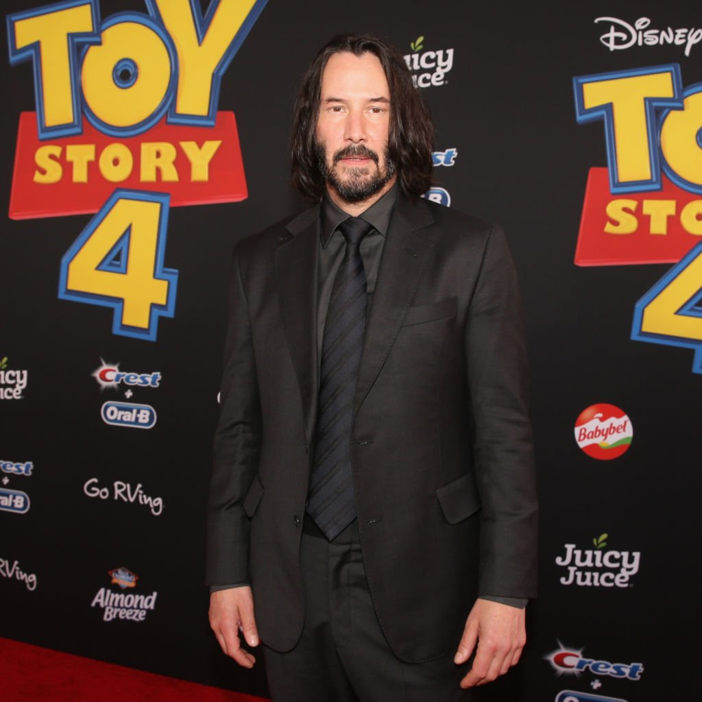Keanu Reeves attends the world premiere of Disney and Pixar's TOY STORY 4 at the El Capitan Theatre in Hollywood, CA | Photo: Getty Images