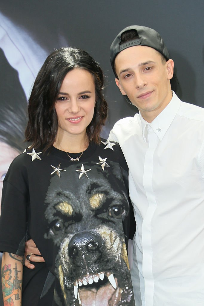 "Alizée et Grégoire Lyonnet assistent au photocall pour ""Dance with the Stars"" au Grimaldi Forum le 14 juin 2015 à Monte-Carlo, Monaco. 