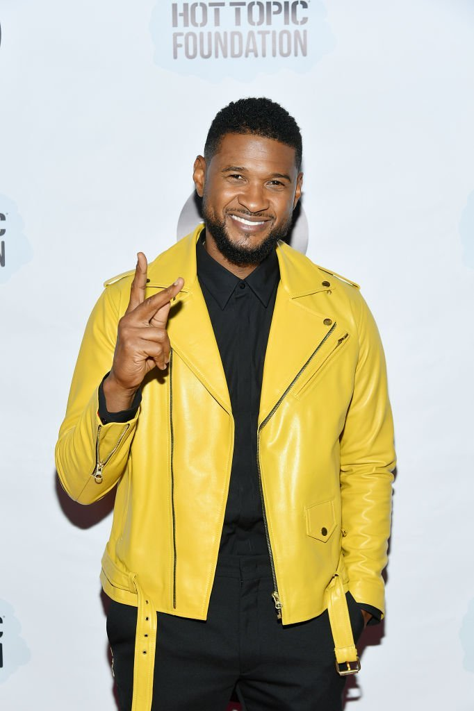 Usher attends the Little Kids Rock Benefit 2019 at PlayStation Theater | Photo: Getty Images