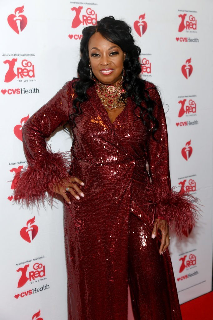 Star Jones attends The American Heart Association's Go Red for Women Red Dress Collection 2020 at Hammerstein Ballroom on February 05, 2020 | Photo: Getty Images