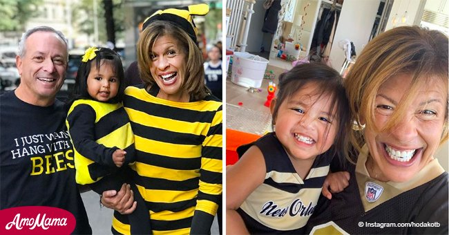 Hoda Kotb calls maternity 'a gift' and proves it's never too late to become a mom