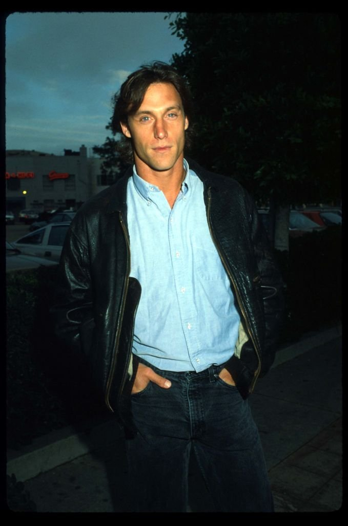 """Actor Hunt Block stands with his hands in his pocket at the premiere of """"Arthur 2"""" June 22, 1988 in Los Angeles, CA. 