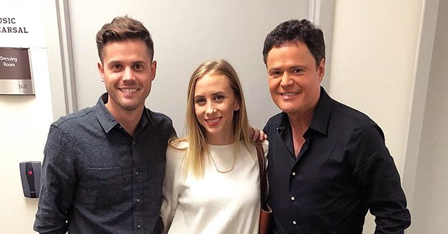 Donny Osmond Sends Birthday Wishes to Pregnant Daughter-In-Law Alongside a Family Photo