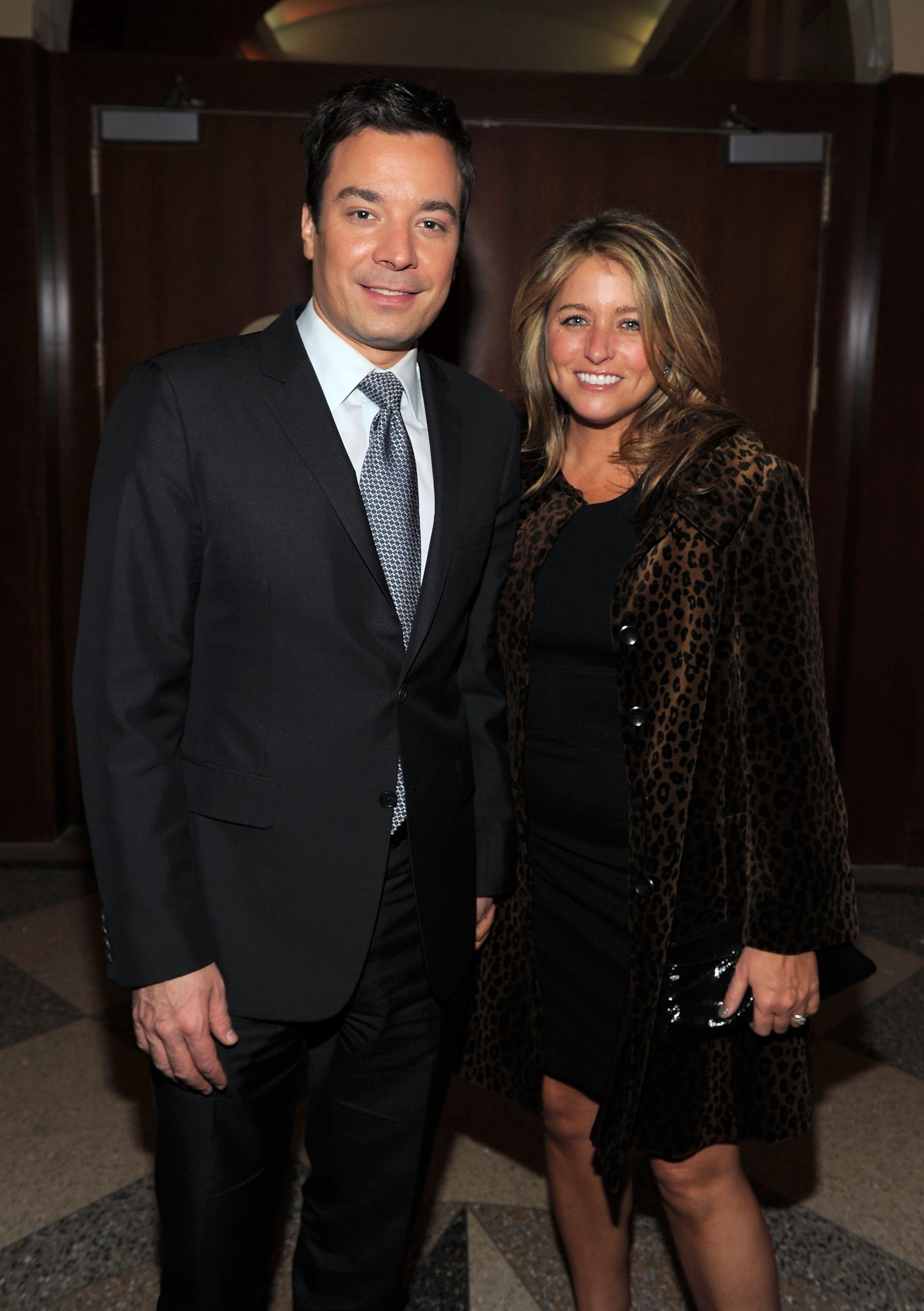 Jimmy Fallon and Nancy Juvonen attend Food Bank For New York City's Annual Can-Do Awards Gala on April 7, 2011, in New York City. | Source: Getty Images.