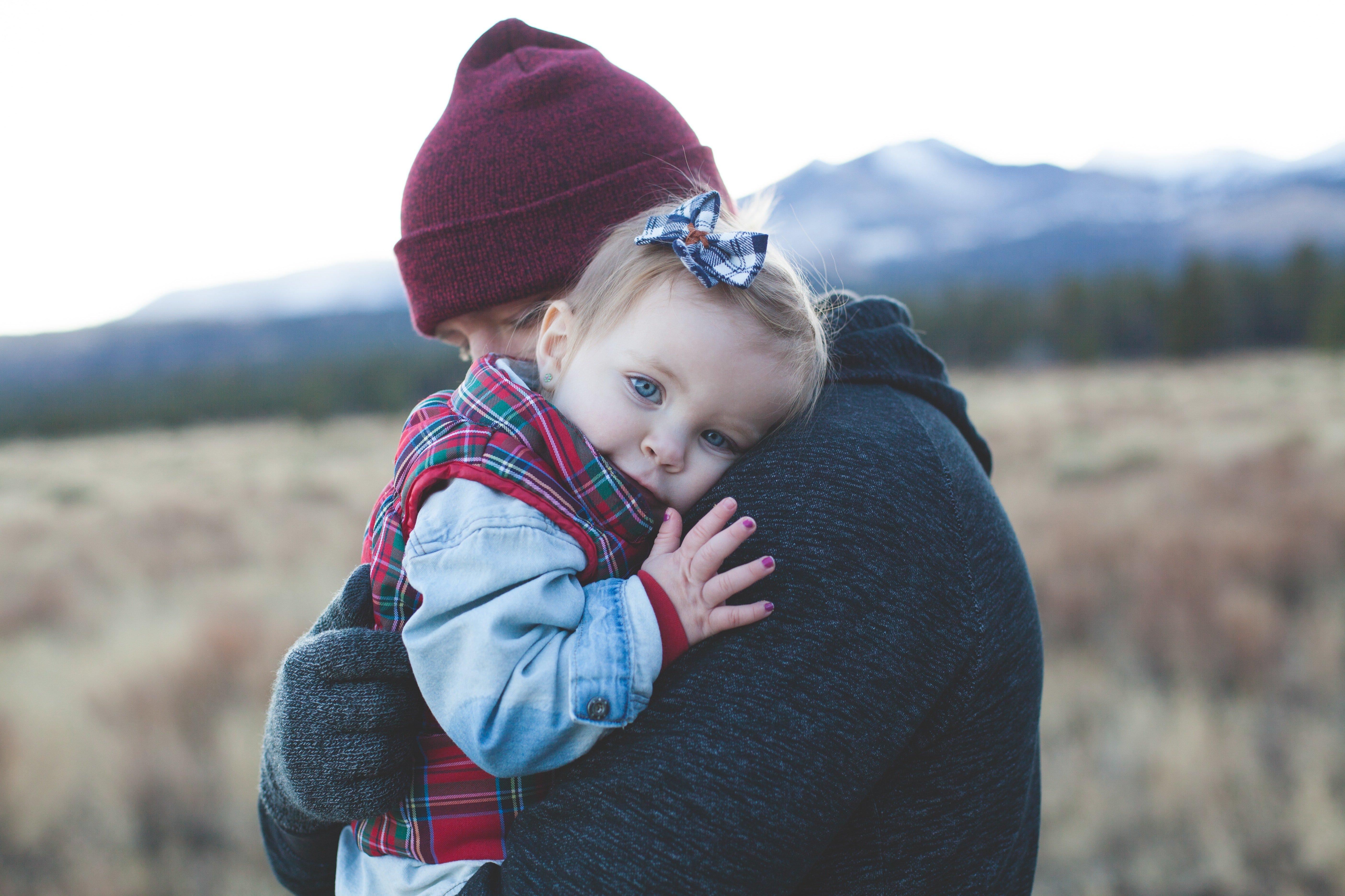 I remember that my dad always cared for me and loved me, since I was a baby.   Source: Pexel