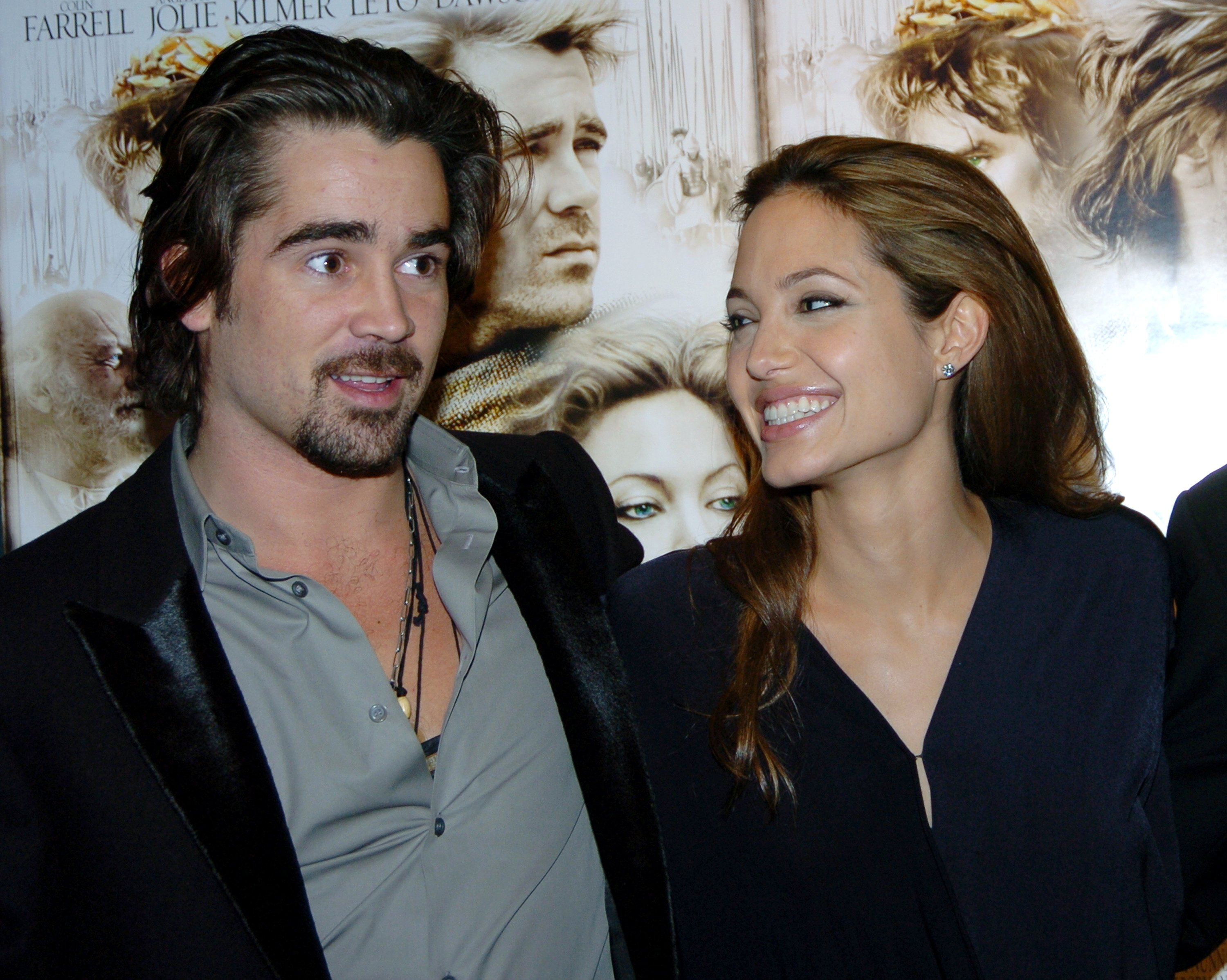 Colin Farrell y Angelina Jolie se reúnen en la Film Society of Lincoln Center. | Foto: Getty Images