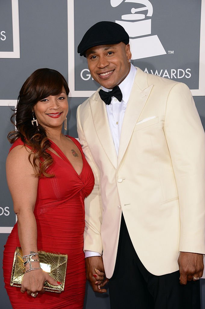 apper/actor LL Cool J (R) and wife Simone Johnson arrive at the 55th Annual GRAMMY Awards at Staples Center | Photo: Getty Images