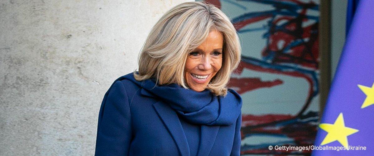 """La première dame Brigitte Macron a """"pris les fonctions"""" du président pendant son absence"""