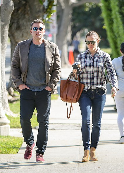 Ben Affleck and Jennifer Garner are seen on April 09, 2019 in Los Angeles, California. | Photo: Getty Images