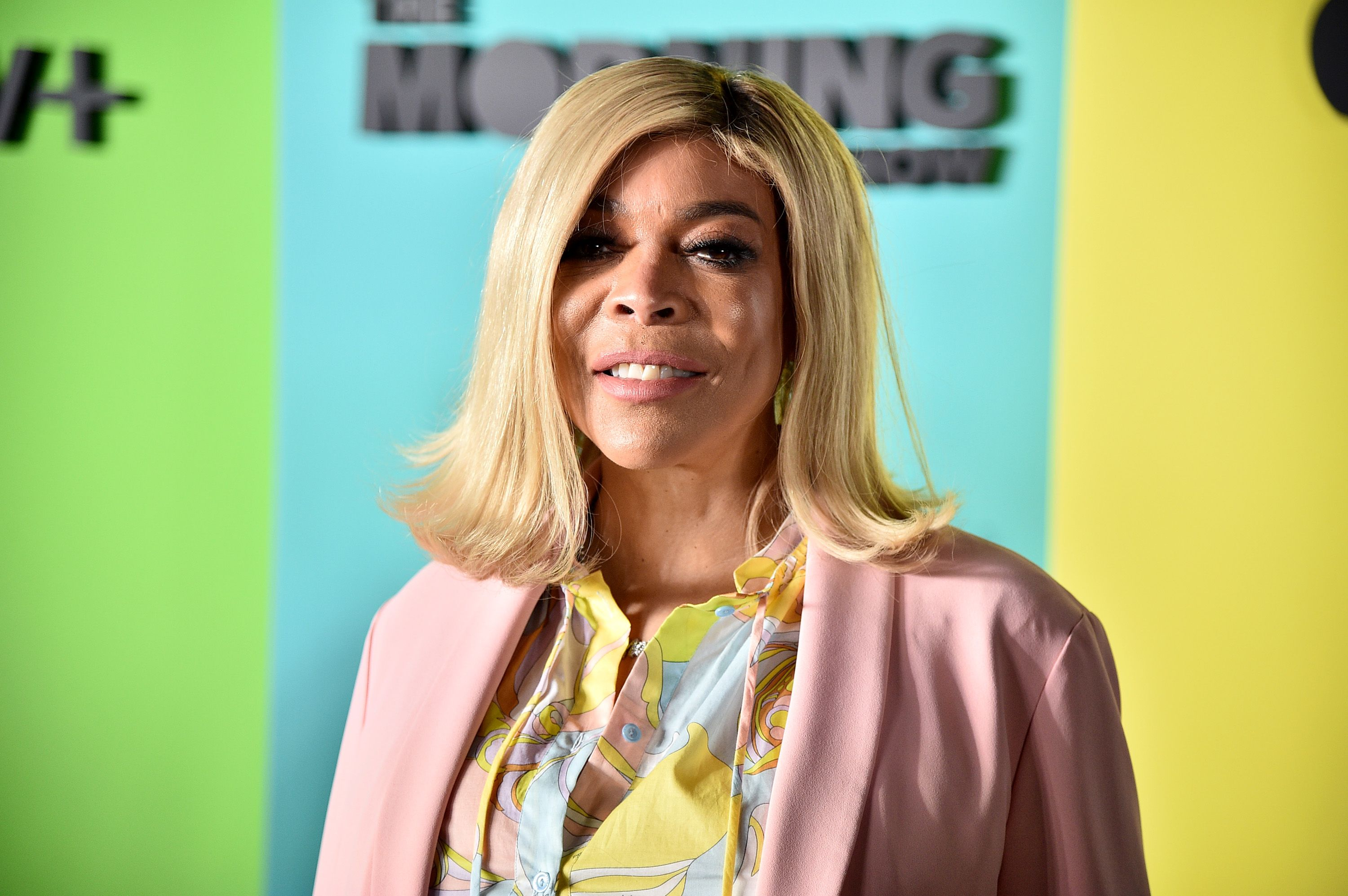 """Wendy Williams at """"The Morning Show"""" World Premiere on October 28, 2019 in New York. 