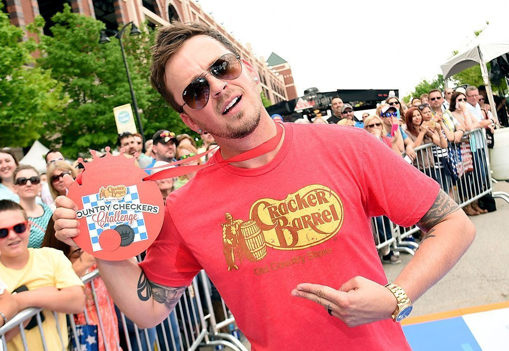 Stephen Barker Liles of Love and Theft attends the Cracker Barrel Old Country Store Country Checkers Challenge on April 18, 2015 in Arlington, Texas | Source: Getty Images