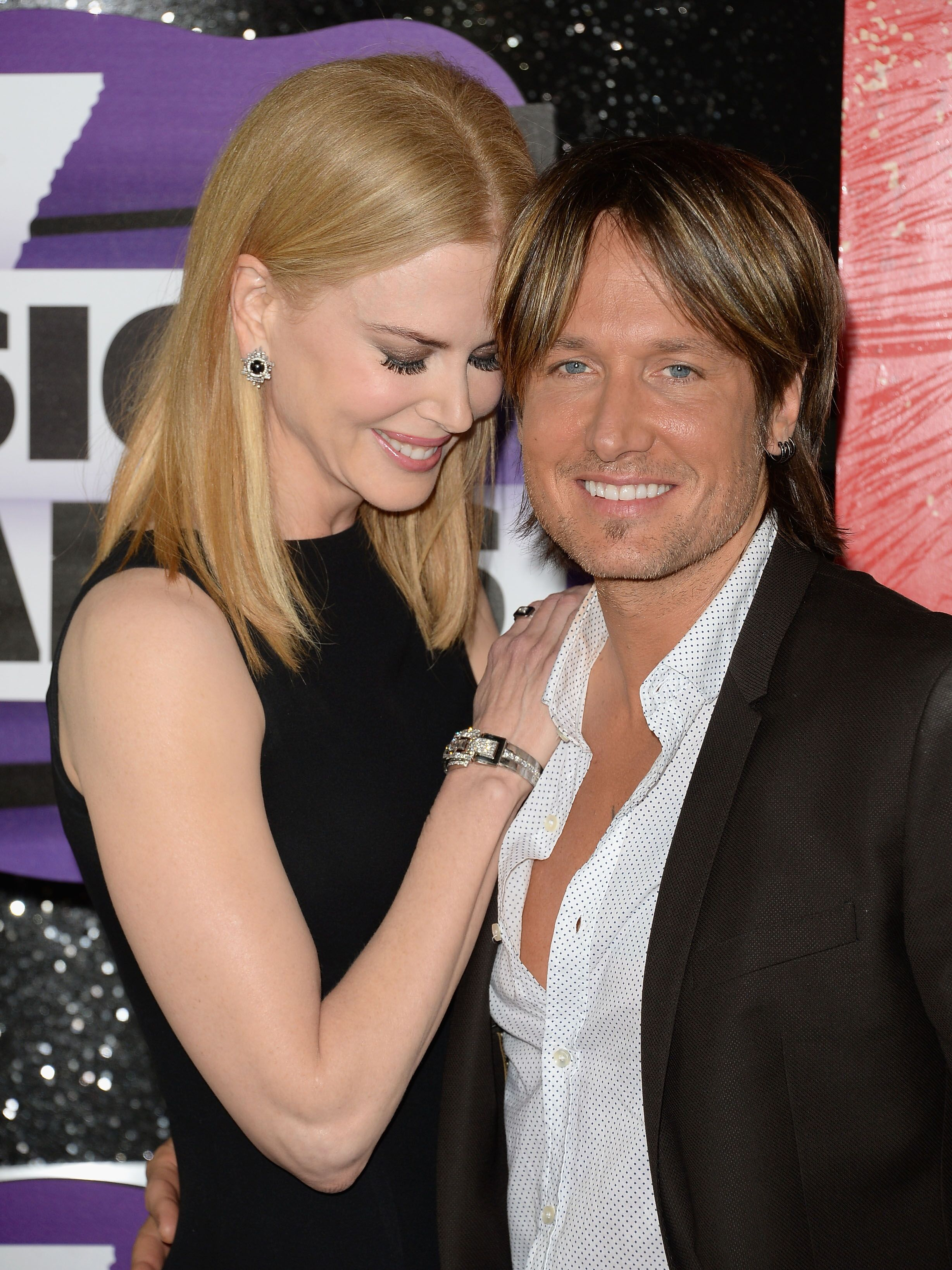 Nicole Kidman and Keith Urban attend the CMT Music Awards. | Source: Getty Images
