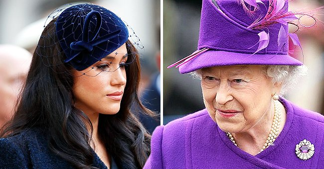 Fans Outraged with a Cartoon by Charlie Hebdo of the Queen Choking Meghan Markle — See Comments