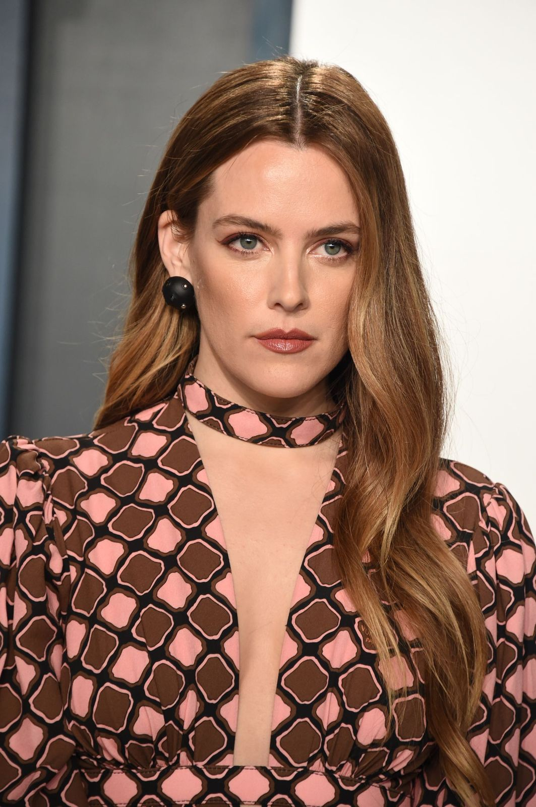 """Riley Keough atthe""""Vanity Fair"""" Oscar Partyon February 09, 2020, in Beverly Hills, California   Photo: John Shearer/Getty Images"""