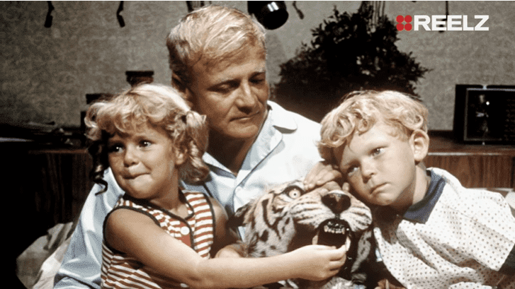 "Anissa Jones, Johnny Whitaker and Brian Keith in ""Family Affair"" 