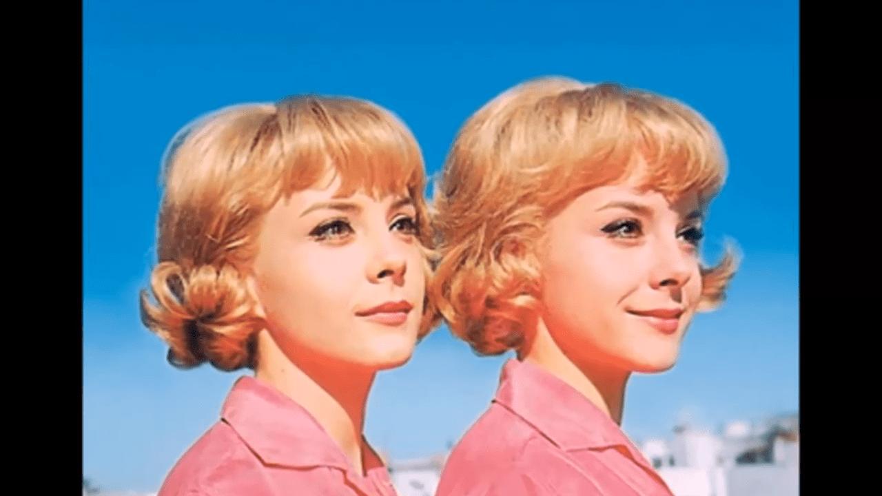 Pili y Mili causaron furor durante los 60's y los 70's │Imagen tomada de: YouTube / ALEJANDRO ZUNIGA RECORDANDO