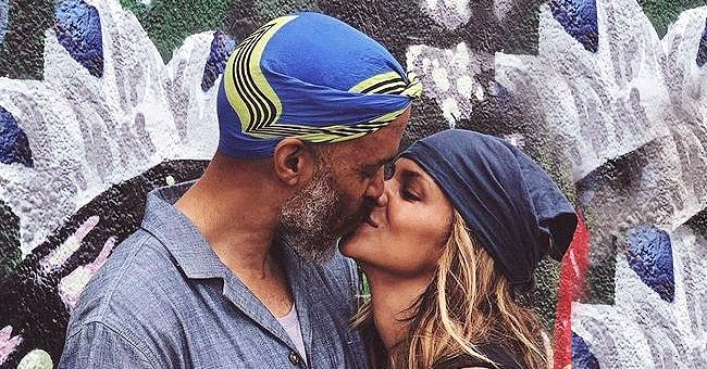 Halle Berry Passionately Kisses Boyfriend Van Hunt in Photos He Shared in Honor of Women's Day