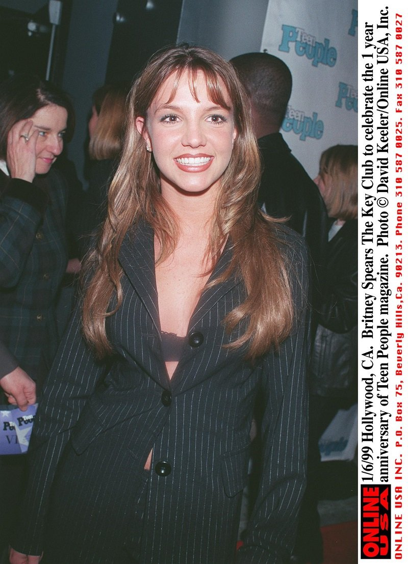 Britney Spears in Hollywood, California on January 6, 1999 | Photo: Getty Images