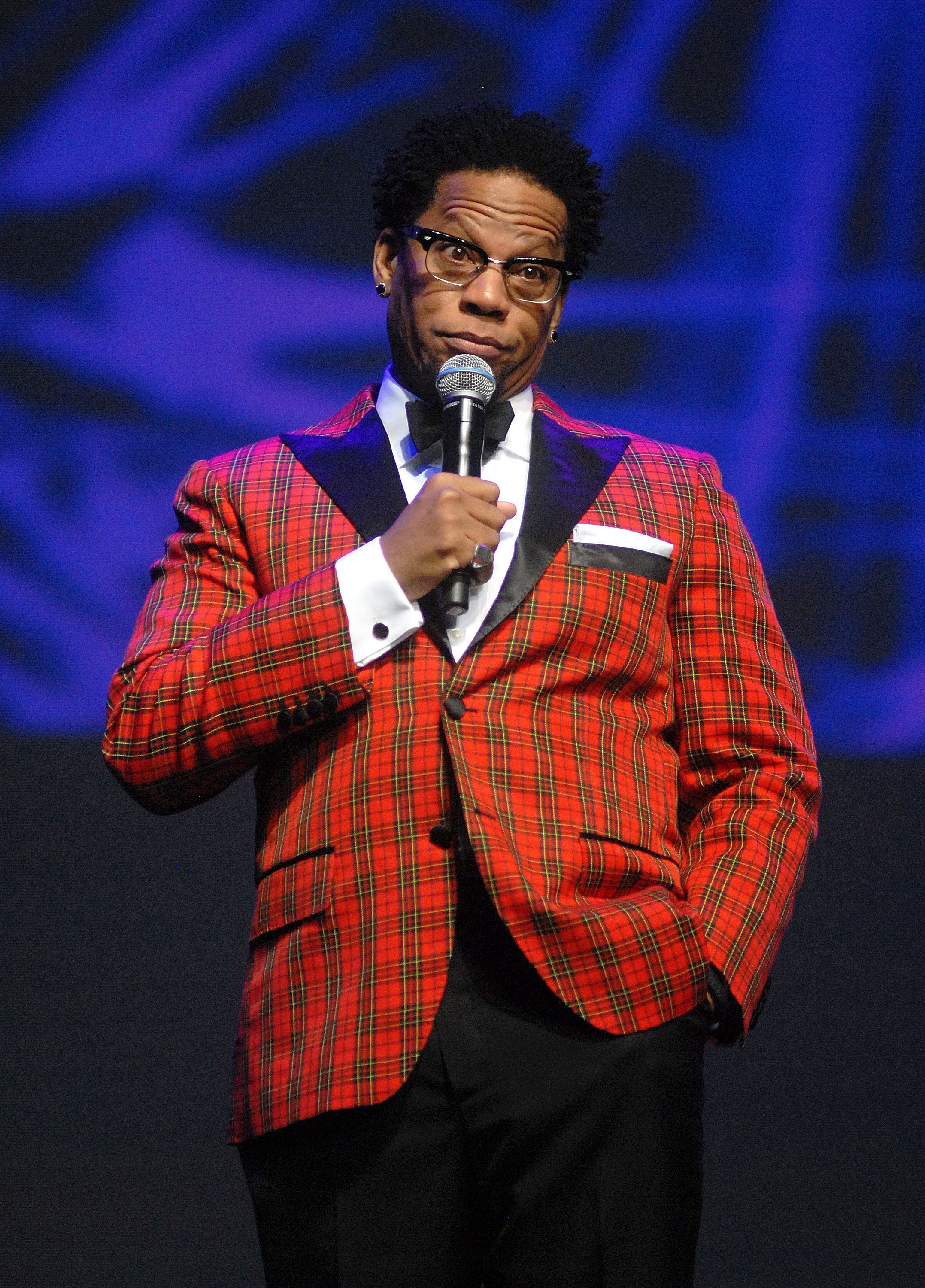 D.L. Hughley performs at MotorCity Casino's Sound Board Theater on January 23, 2014. | Photo: GettyImages/Global Images of Ukraine