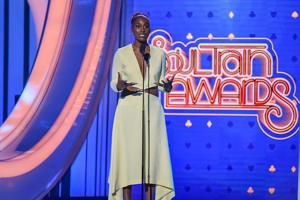 Issa Rae speaks onstage during the Soul Train Music Awards at the Orleans Arena in Las Vegas, Nevada | Photo: Getty Images
