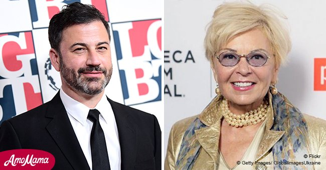 Jimmy Kimmel expresses his compassion for Roseanne Barr amid ABC cancellation drama