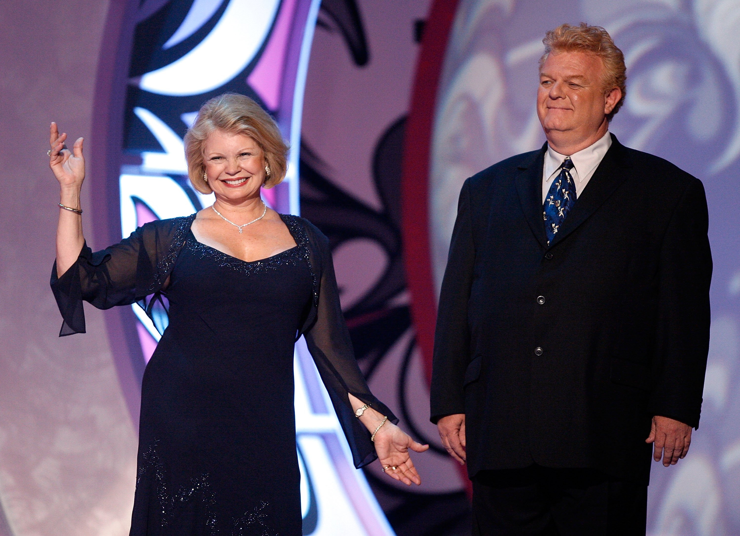 Kathy Garver and Johnny Whitaker at the 5th Annual TV Land Awards held at Barker Hangar on April 14, 2007 | Photo: GettyImages