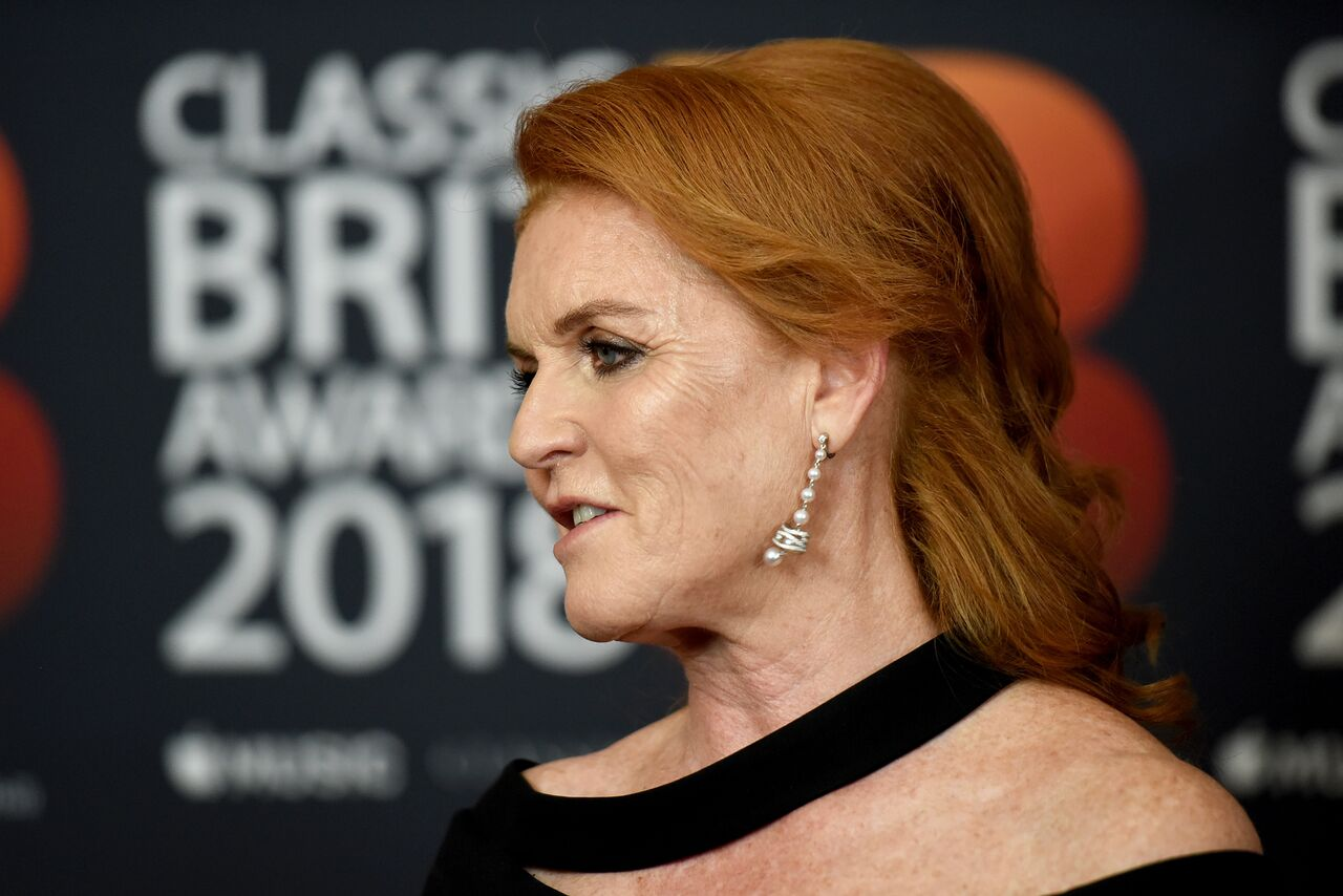 Sarah Ferguson at Classic Brit Awards in London 2018. | Source: Getty Images