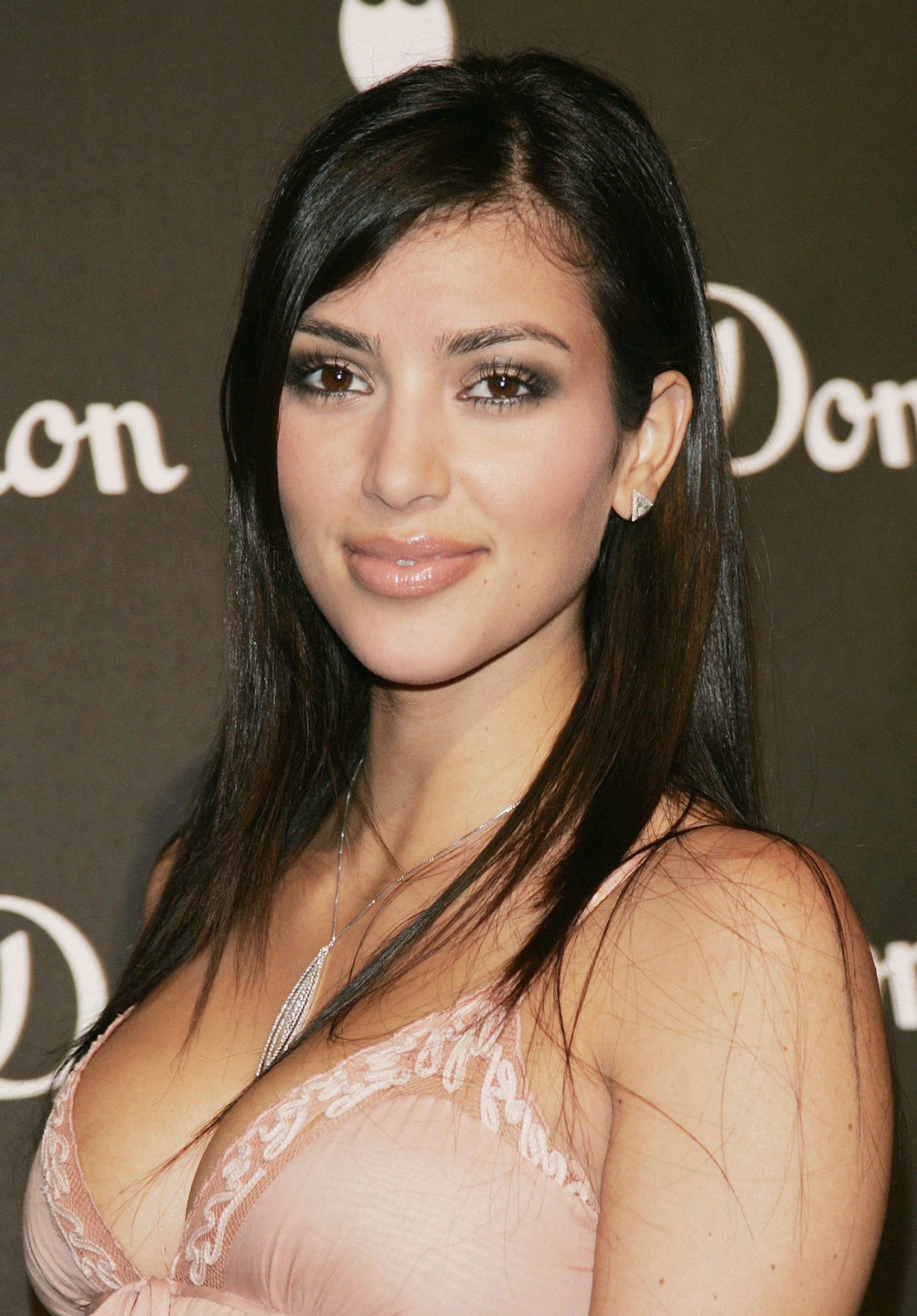 Kim Kardashian at the International Launch of Dom Perignon Rose Vintage 1996 Champagne on June 2, 2006 l Photo: Getty Images