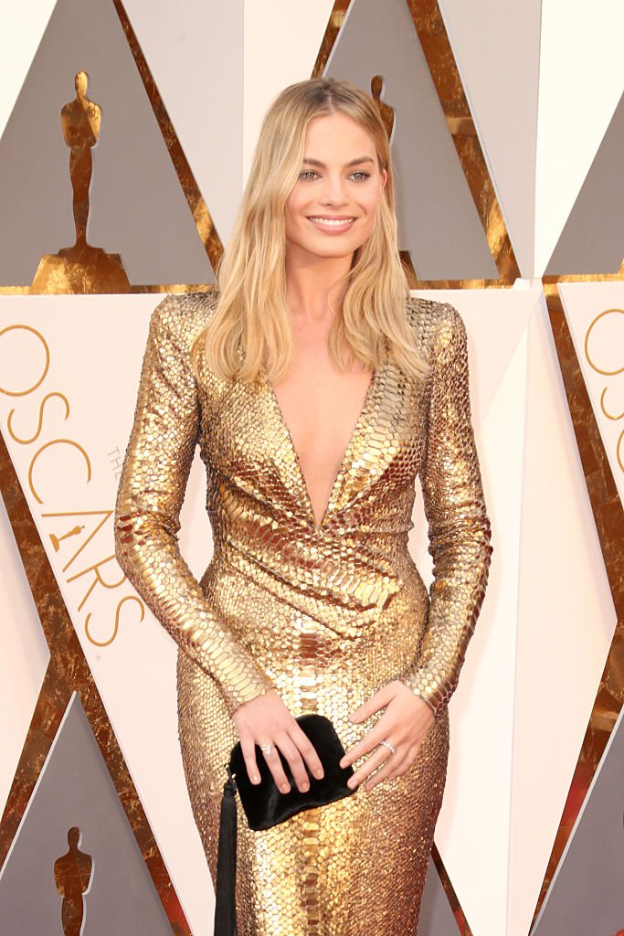 Margot Robbie en février 2014 à Hollywood. Photo : Getty Images