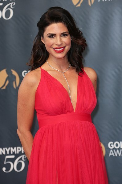 Cindy Sampson at the 56th Monte Carlo TV Festival Closing Ceremony on June 16, 2016 | Photo: Getty Images