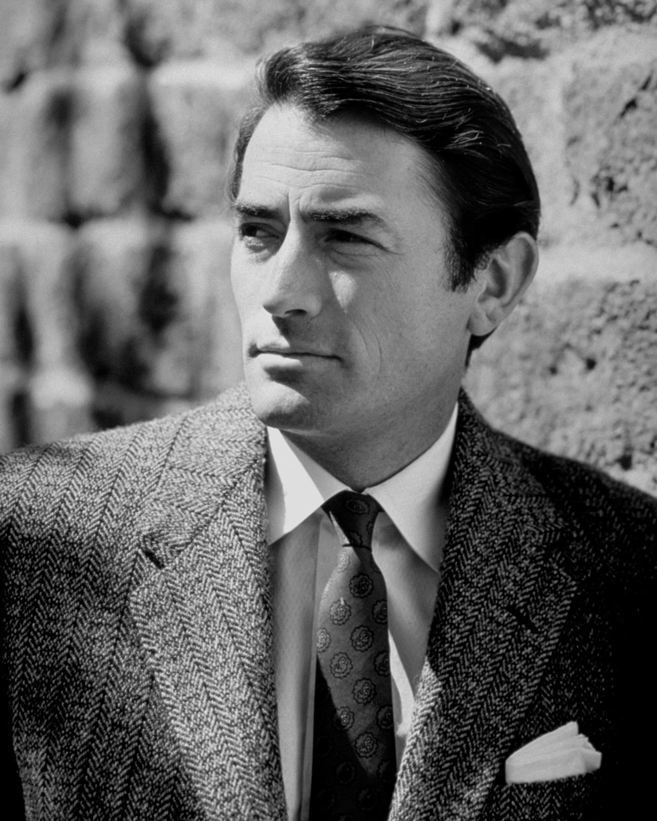 Publicity Photo of American film actor Gregory Peck | Photo: Public Domain, Wikimedia Commons