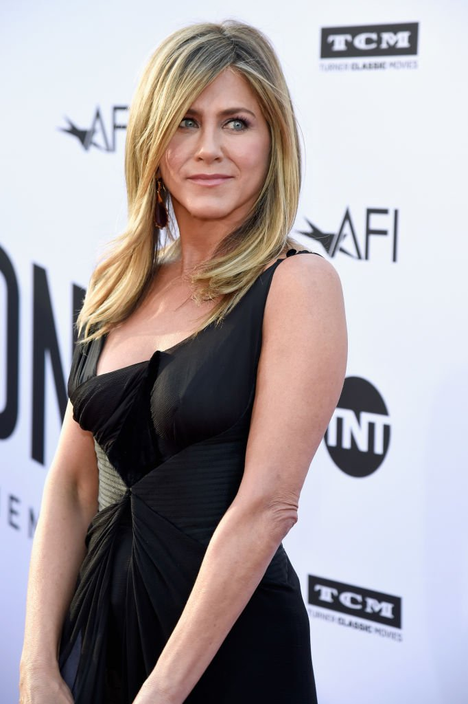 Jennifer Aniston at the American Film Institute's 46th Life Achievement Award Gala.   Source: Getty Images
