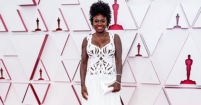 Viola Davis Steals the Spotlight as She Attends the Oscars Red Carpet in a Daring White Gown